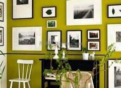 照片墙设计  定格家的温馨回忆