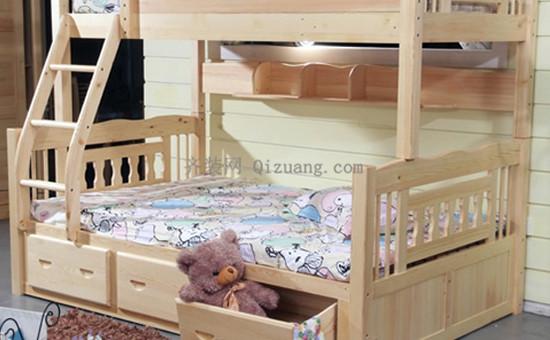 松木儿童床