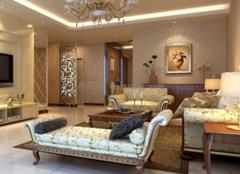 客厅装修做的好 在朋友面前才有面子啊