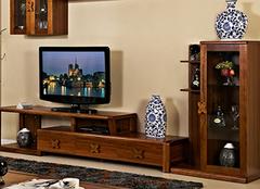 实木电视柜的选购要点,谁不想拥有!