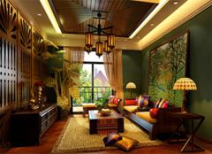 东南亚风格 尽显神秘悠闲之感