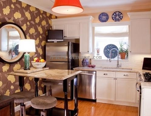 混搭风格厨房装修案例图