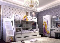 2016豪华公主卧室装修设计效果图欣赏