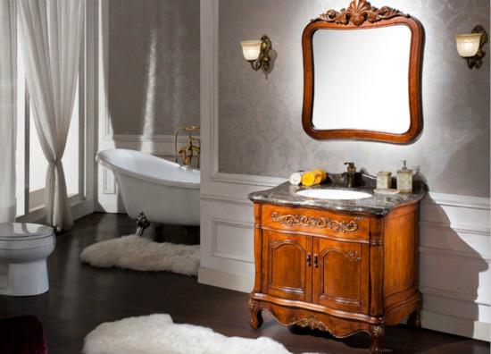浴室防雾镜效果图
