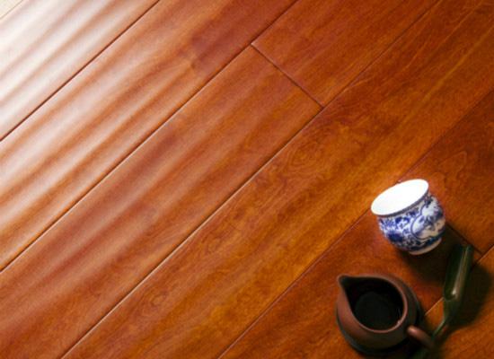 大自然实木地板效果图