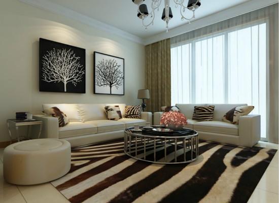 客厅装饰画效果图