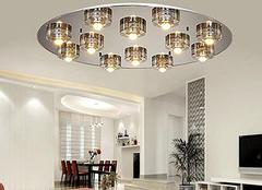 家庭照明灯具有哪些类型及款式选择