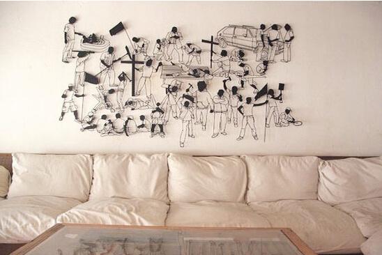 背景墙创意设计 show表情秀