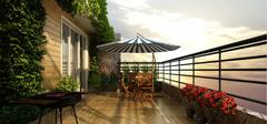 小户型阳台应该怎么设计?