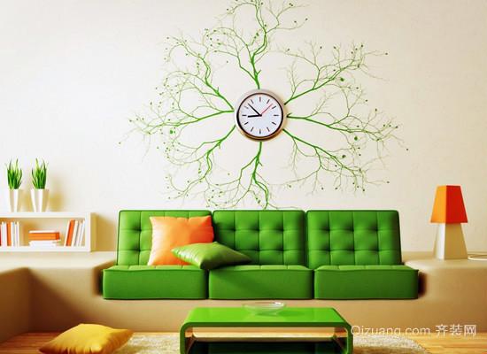家居手绘墙效果图