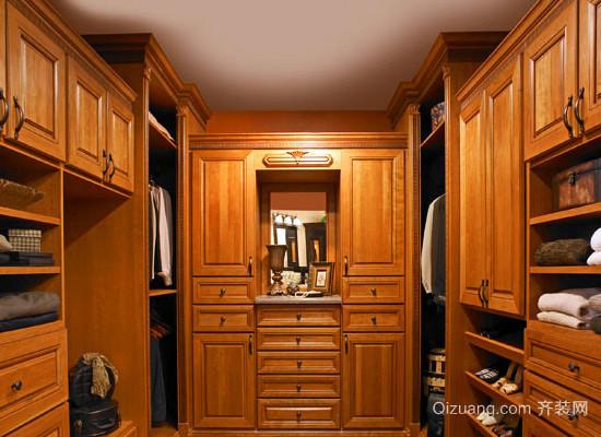 实木衣柜效果图
