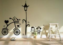 儿童房装修之手绘墙设计