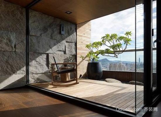 阳台装修效果图