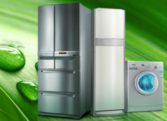 家用电器分别为五行中的什么属性?