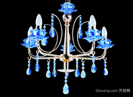 水晶灯效果图