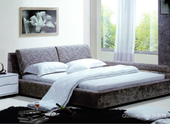 床垫效果图