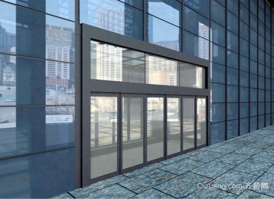 玻璃幕墙效果图