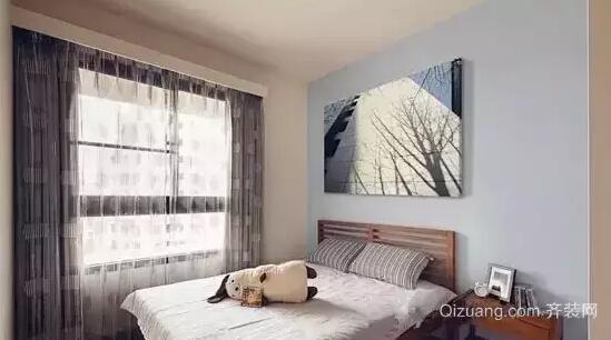 浅蓝色卧室