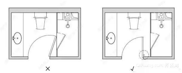 卫生间门设计图