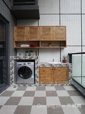 阳台洗衣房