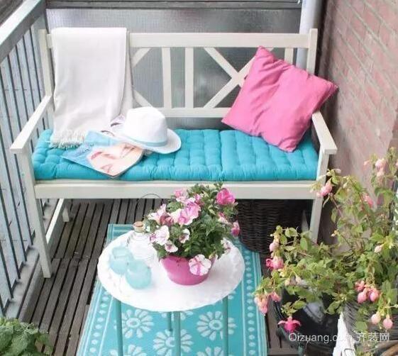 阳台休闲区