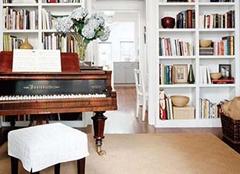客厅书房这样装修,邻居都看呆啦!