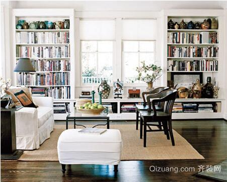 客厅书房效果图