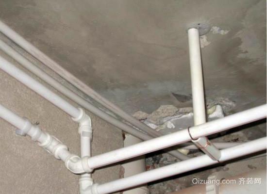 下水管道安装效果图