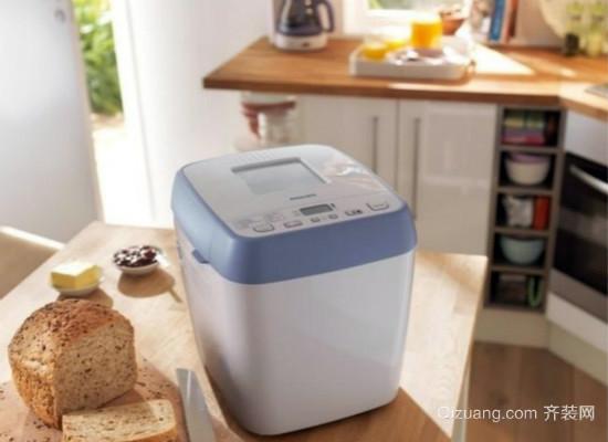 面包机制作面包方法