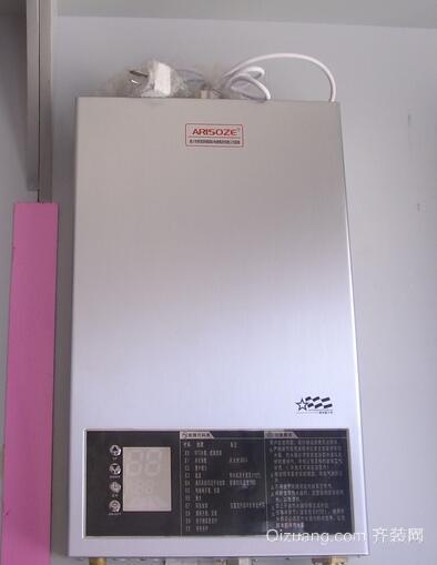 直排式热水器