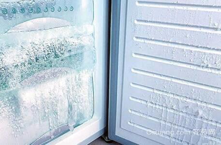 冰箱结冰图