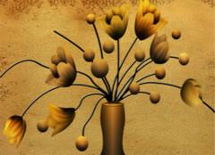 金箔画制作的七大步骤,你学会了么?