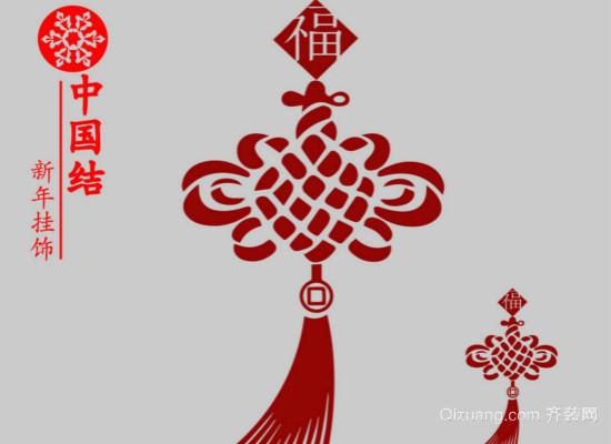 中国结的挂法