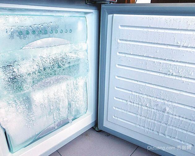 冰箱结冰实例图