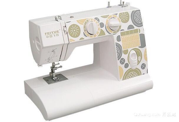 老式缝纫机面怎么穿图解