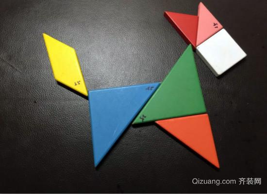 七巧板正方形的拼法