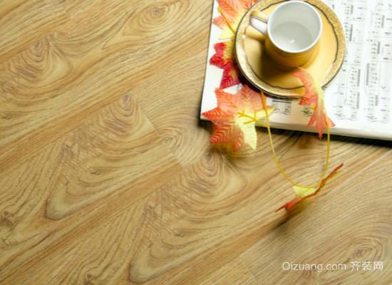 竹塑地板效果图