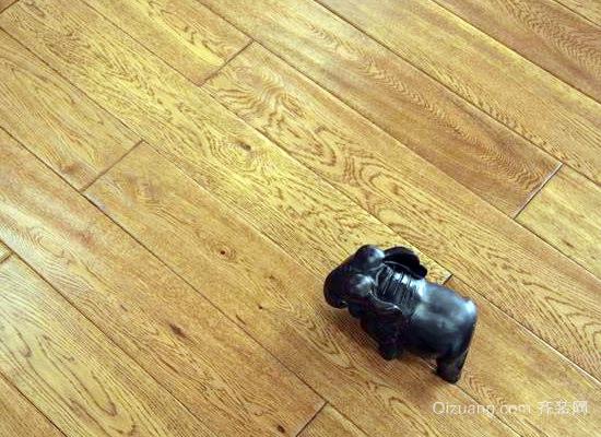 栎木地板效果图