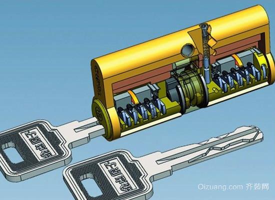 原子锁效果图