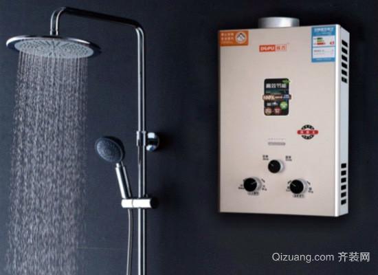 燃气热水器耗气量