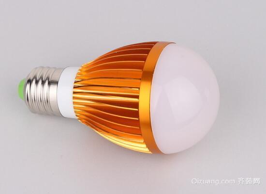 led灯泡效果图