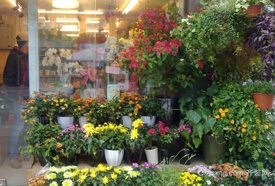 鲜花店效果图