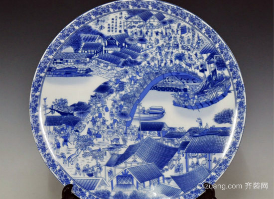 陶瓷画效果图