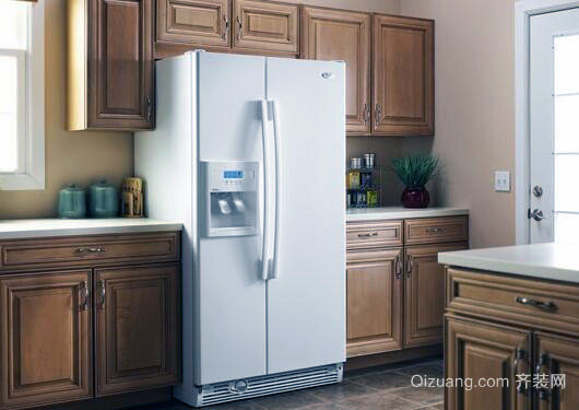 冰箱尺寸效果图