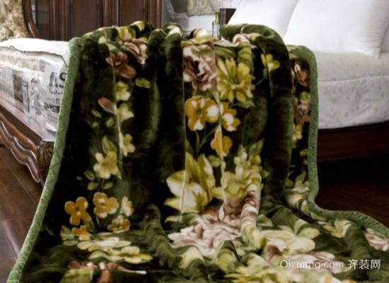 羊毛毯子效果图
