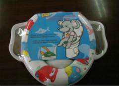 你知道拉锁马桶垫应该怎么套吗?