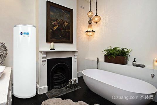 空气能热水器效果图