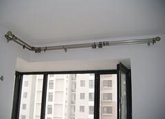 窗帘杆安装有什么需要注意的事项