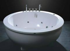圆形浴缸尺寸的规格,你都清楚吗?