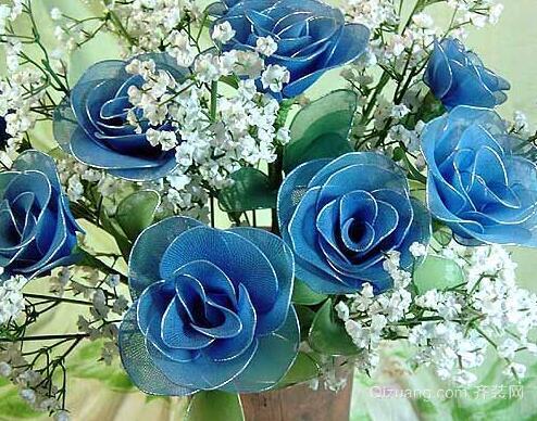 丝网花玫瑰